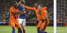 Oranje wint troosteloos oefenduel zonder glans in Schotland