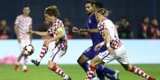 Kroatië kan WK-ticket al ruiken na winst op Grieken