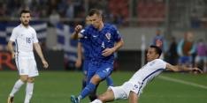 Kroatië ontloopt heet Grieks avondje en gaat naar WK