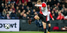 Feyenoord met Jørgensen en St. Juste tegen Heerenveen