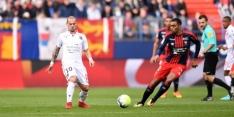 Sneijder met Nice niet verder dan remise tegen Caen