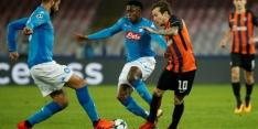 Groep F: Napoli klopt Shakhtar en mag nog hopen