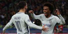 Chelsea overwintert in CL, CSKA doet goede zaken