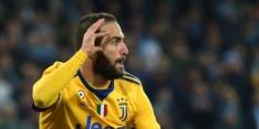Higuain goud waard voor Juventus en dompelt Napoli in rouw