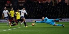 Spurs ook niet langs Watford, Liverpool haalt uit bij Brighton