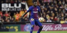 'Huilende' Umtiti wil niet vertrekken bij FC Barcelona