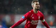 Oud-FC Twente-speler Thesker test positief op coronavirus
