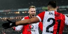 Jørgensen weer terug bij Feyenoord, ook Nieuwkoop inzetbaar