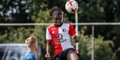 Malacia geniet van doorbraak in het eerste van Feyenoord