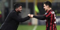Gattuso heeft eerste zege als trainer van Milan binnen