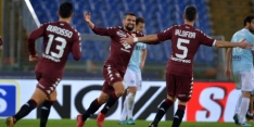 Pijnlijke nederlaag Lazio tegen Torino na rood Immobile