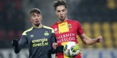 Go Ahead en Jong PSV schieten weinig op met remise