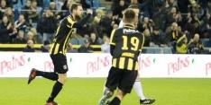 Vitesse komt laat langszij tegen effectief Willem II