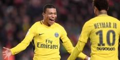 Neymar en Mbappé leiden PSG naar ruime zege
