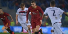 AS Roma boekt in extremis overwinning op Cagliari