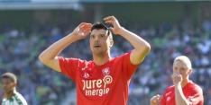 """Vuckic maakt rentree bij Twente: """"Het was, met één woord, zwaar"""""""