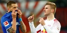 Invaller Werner helpt Leipzig aan zege op Schalke