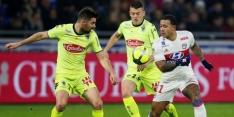 Lyon en Memphis laten dure punten liggen tegen Angers