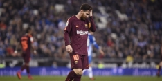 Barça lijdt zeldzame nederlaag na gemiste penalty Messi