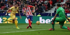 Atlético krijgt Girona op eigen veld niet op de knieën