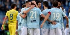 Lazio wint met grote cijfers en passeert Internazionale
