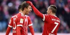 Lewandowski en Müller redden Bayern tegen Bremen