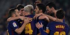 Copa del Rey: Barcelona tegen Valencia in halve finale