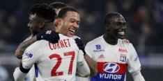 Memphis bezorgt Lyon diep in blessuretijd zege op PSG