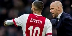 Kristensen debuteert tegen Roda JC in de basis bij Ajax
