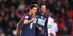 PSG ontdoet zich in Franse beker met moeite van Guingamp