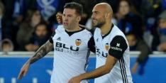 Buitenland: zege Valencia, puntenverlies Inter en Brugge