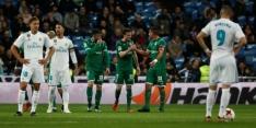 Leganés stunt en schakelt Real Madrid uit in Copa del Rey