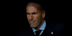 """Zidane gaat door diep dal: """"Dit is een zware dreun"""""""