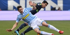 Internazionale loopt weer averij op, ditmaal in slotfase tegen SPAL