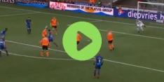 Krankzinnig: speler van Volendam maakt bizar eigen doelpunt