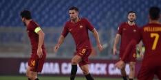 Strootman, Kluivert en Karsdorp spelen gelijk met Roma