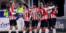 Ruime zege Jong PSV bij rampzalig debuut Nascimento