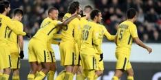 PSG kan in maart eerste prijs pakken na zege op Rennes