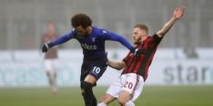Lazio en Milan scoren niet in halve finale Coppa Italia