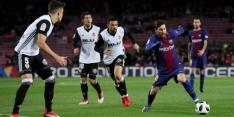 FC Barcelona boekt minimale bekerzege op Valencia