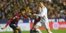 Real geeft kort voor tijd zege uit handen tegen Levante