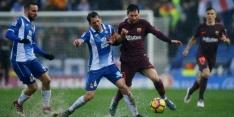 Barcelona houdt punt over aan waterballet tegen Espanyol