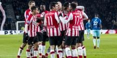 PSV begint zonder wijzigingen aan duel met Heerenveen