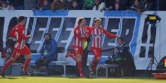 Atlético dankzij vroege goal langs hekkensluiter Málaga