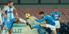 Lazio ondanks goal De Vrij onderuit tegen Napoli