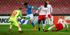 Leipzig te sterk voor Napoli, Lazio verrassend onderuit