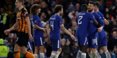 FA Cup: Chelsea en Leicester City eerste kwartfinalisten