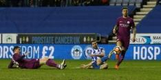 Grigg zorgt voor bekerstunt Wigan tegen Manchester City