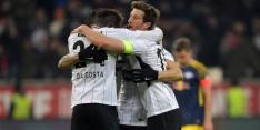 Frankfurt verslaat Leipzig en stijgt naar derde plaats