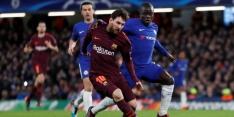 Chelsea en Barça gelijk, Bayern verschalkt tiental Besiktas